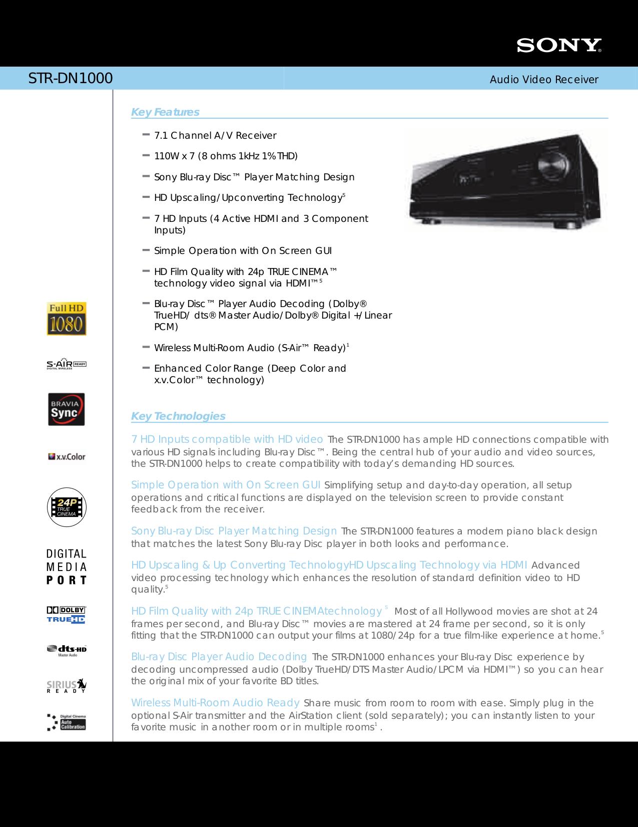 sony str dn1000 manual how to and user guide instructions u2022 rh taxibermuda co str dn1000 manual pdf str-dn1000 remote