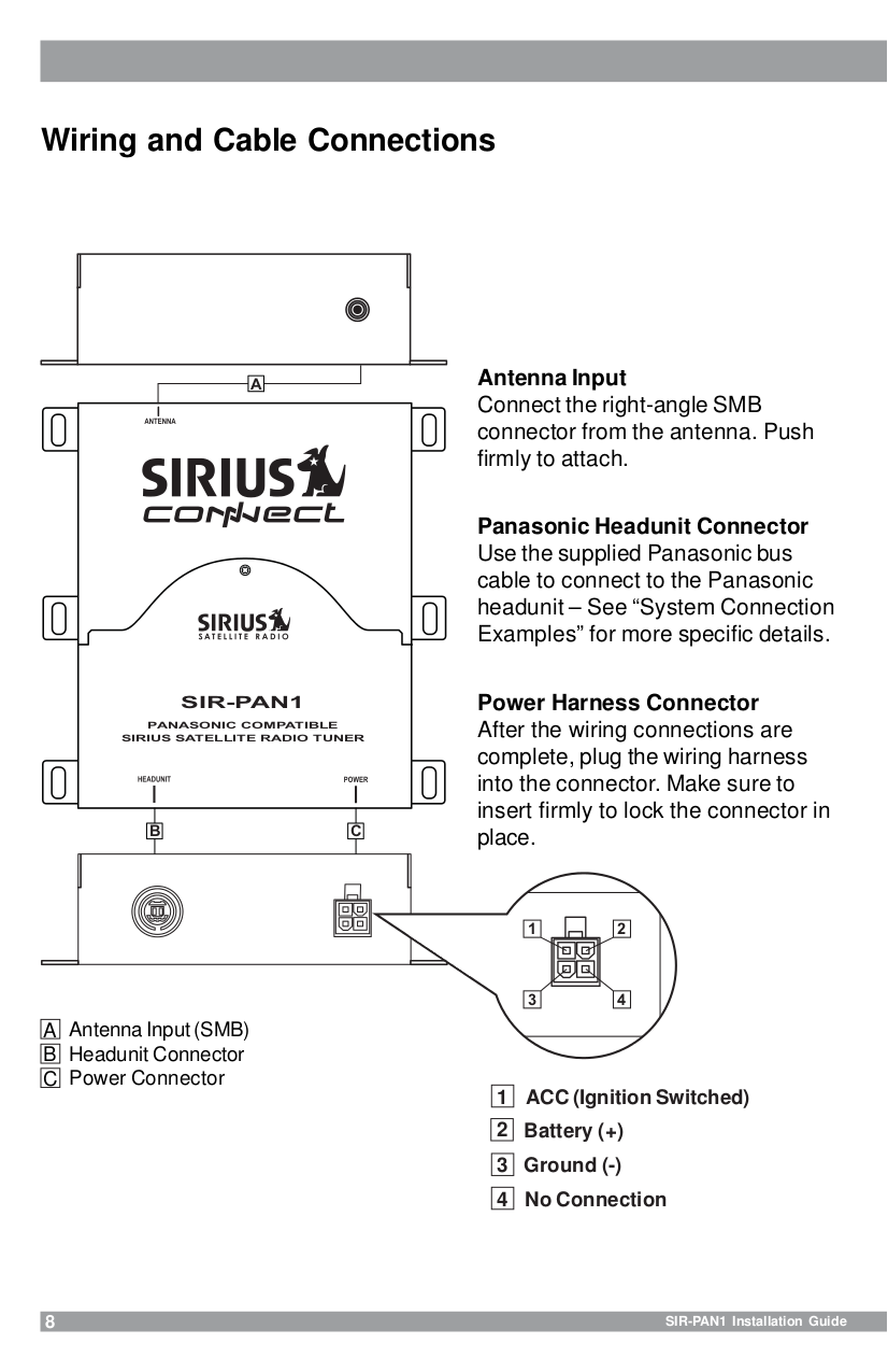 SIR PAN1 Install Manual.pdf 7 panasonic cq cp137u wiring diagram gandul 45 77 79 119 panasonic cq-cp137u wiring harness at fashall.co