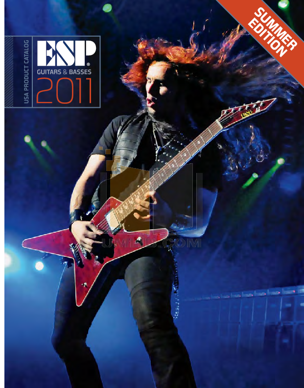 pdf for ESP Guitar Surveyor-415 Ebony manual