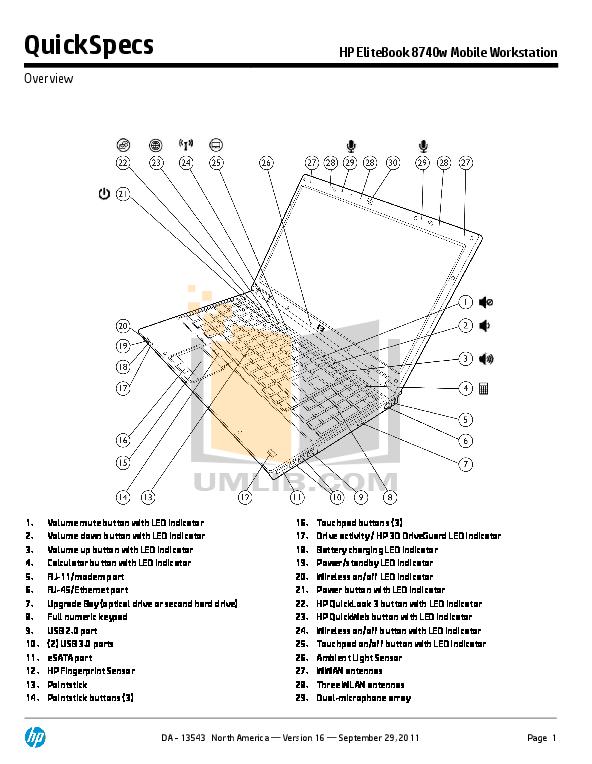 download free pdf for hp elitebook 8740w laptop manual rh umlib com HP ZBook 17 G1 HP Eliteook