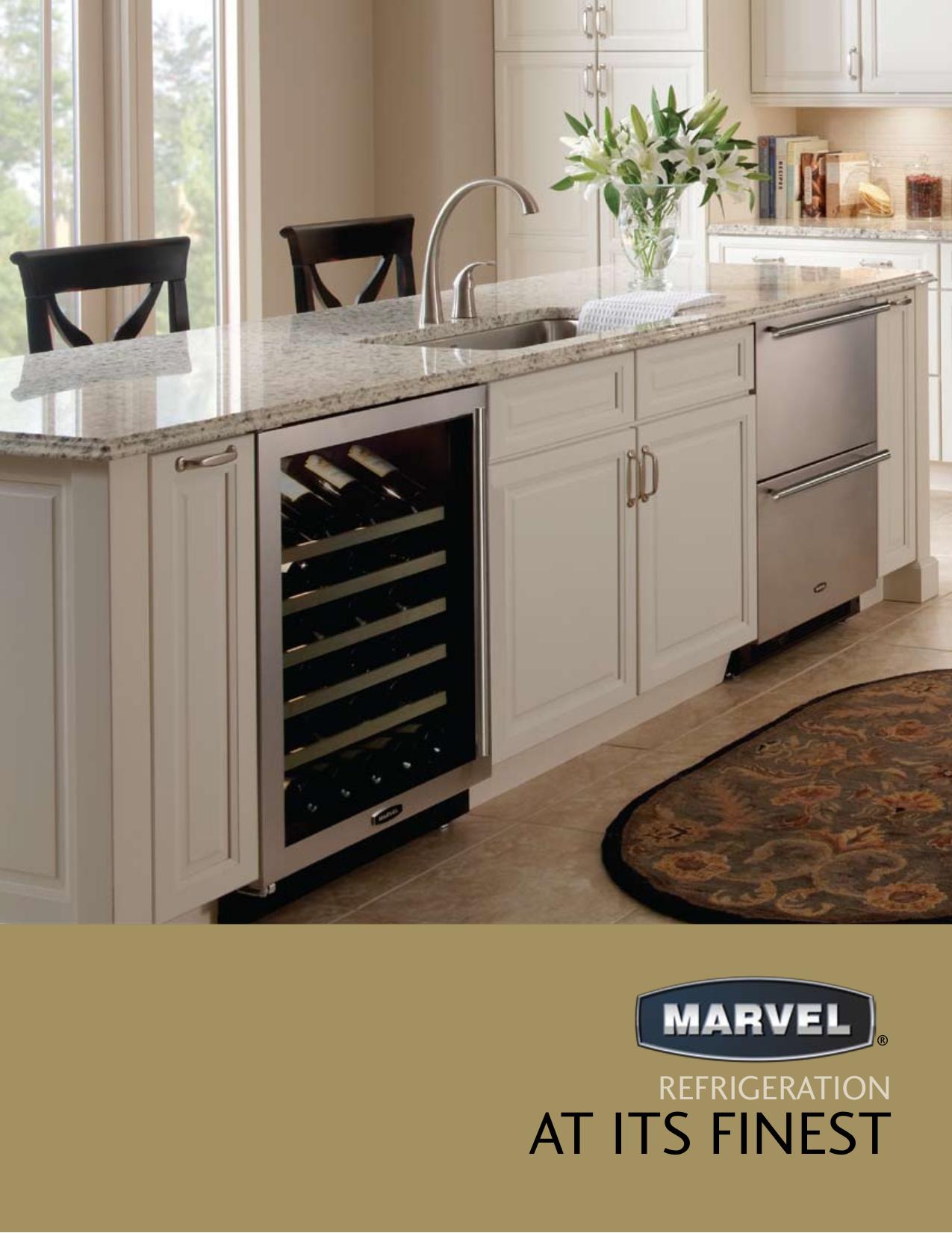 pdf for Marvel Refrigerator 6BARM-BS-G manual