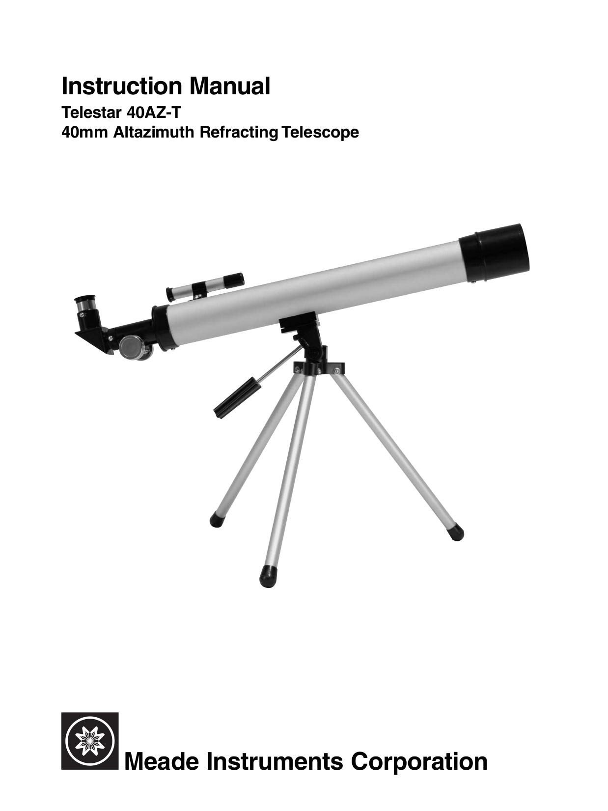 Инструкция для телескопов