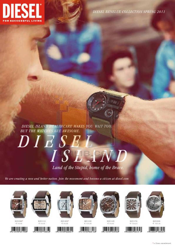 pdf for Diesel Watch DZ1323 manual