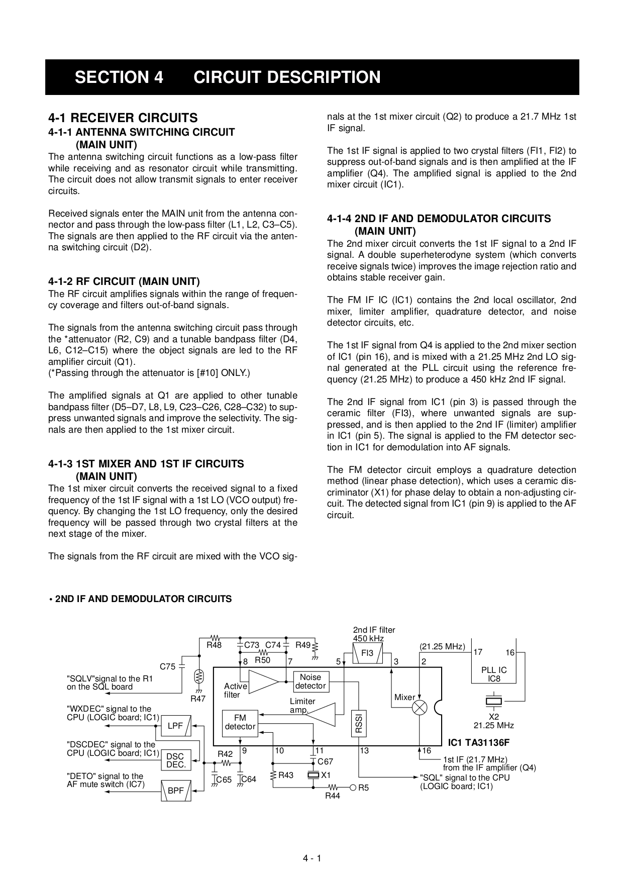 Pdf Manual For Icom Other Ic M302 Radio Marine Antenna Switch Circuit