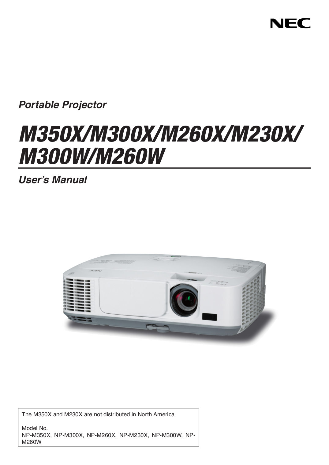 download free pdf for nec m300x projector manual rh umlib com NEC VT 47 Projector Manual Old NEC Projectors