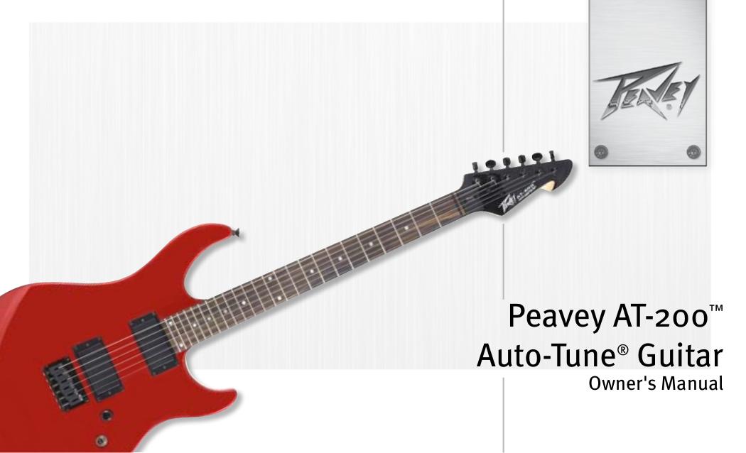 pdf for Peavey Guitar T60 manual