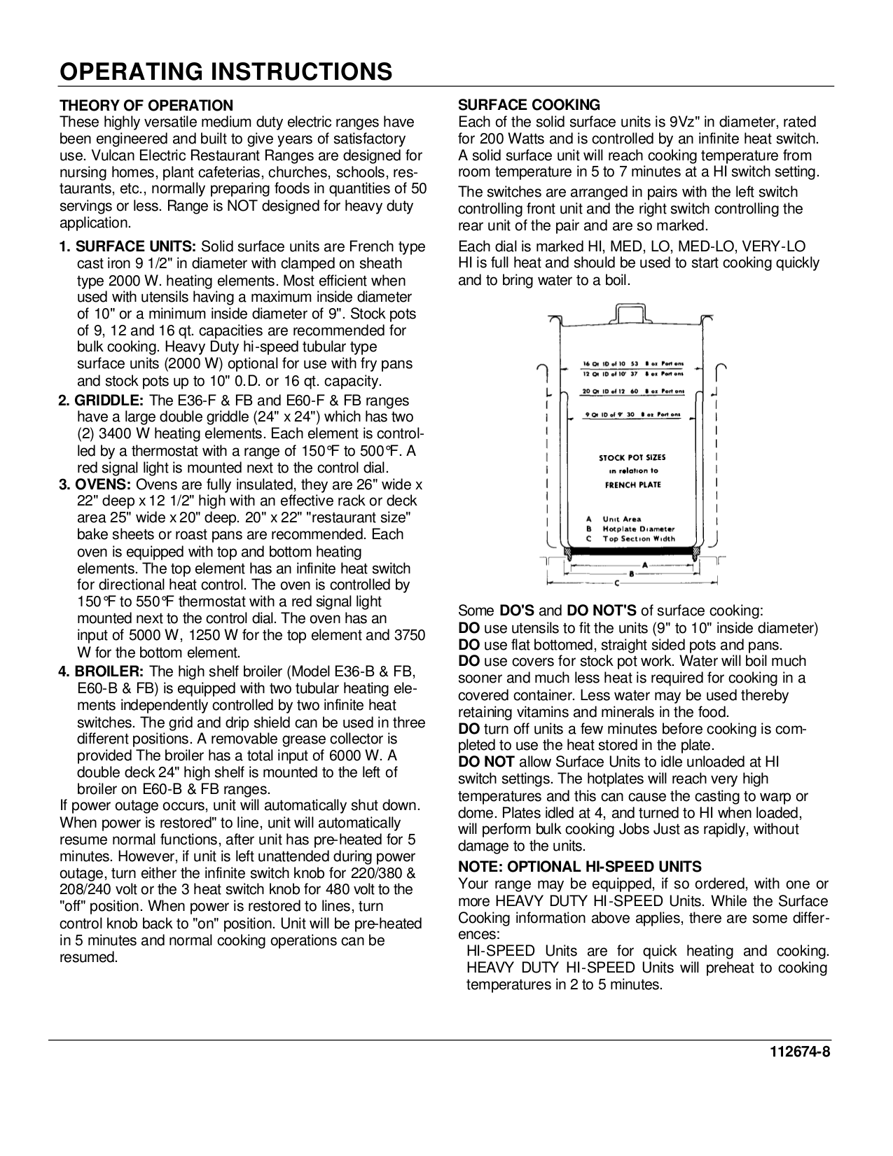 Vulcan Oven VB73 pdf page preview