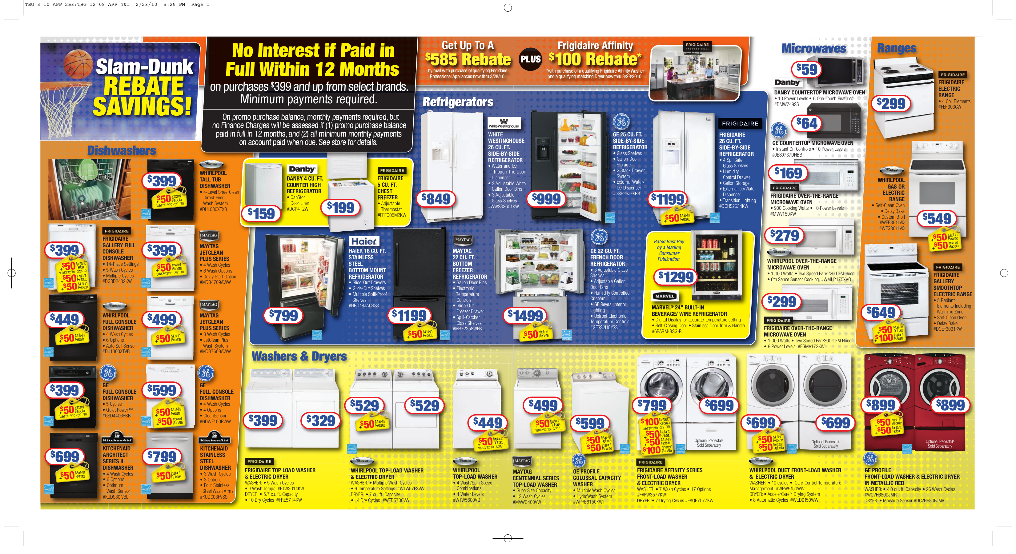 pdf for Westinghouse Refrigerator WWSS2601KW manual