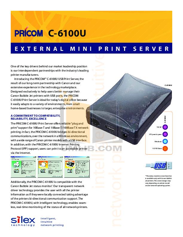 pdf for Canon Printer BJC-S500 manual