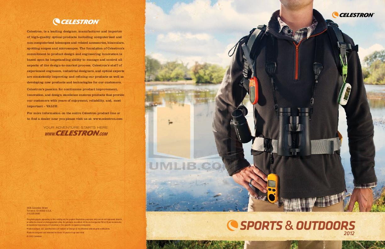 pdf for Celestron Other Ultima 52254 Spotting Scope manual