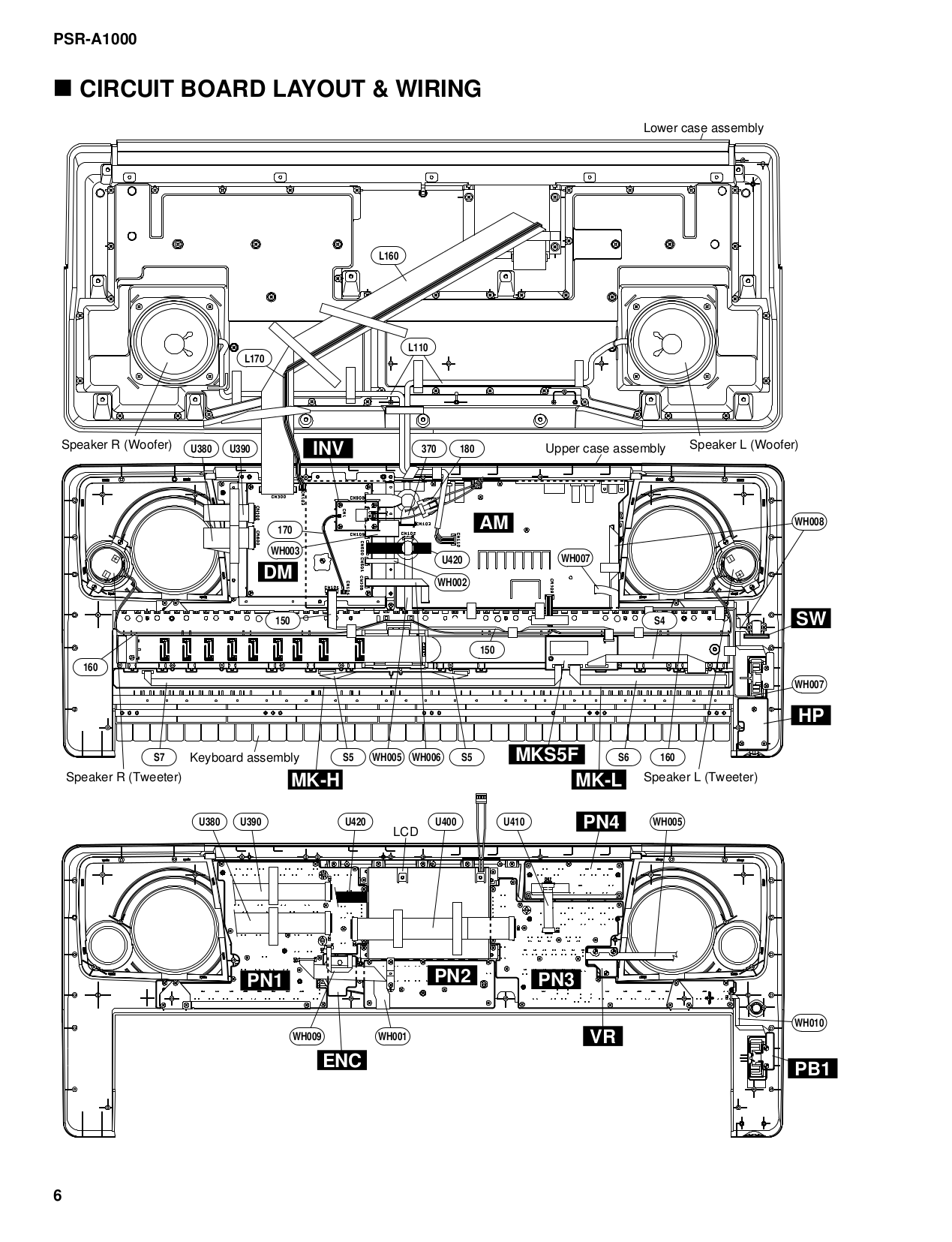 Yamaha psr 70 service Manual