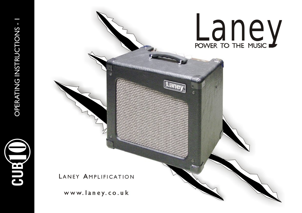 pdf for Laney Amp CUB10 manual