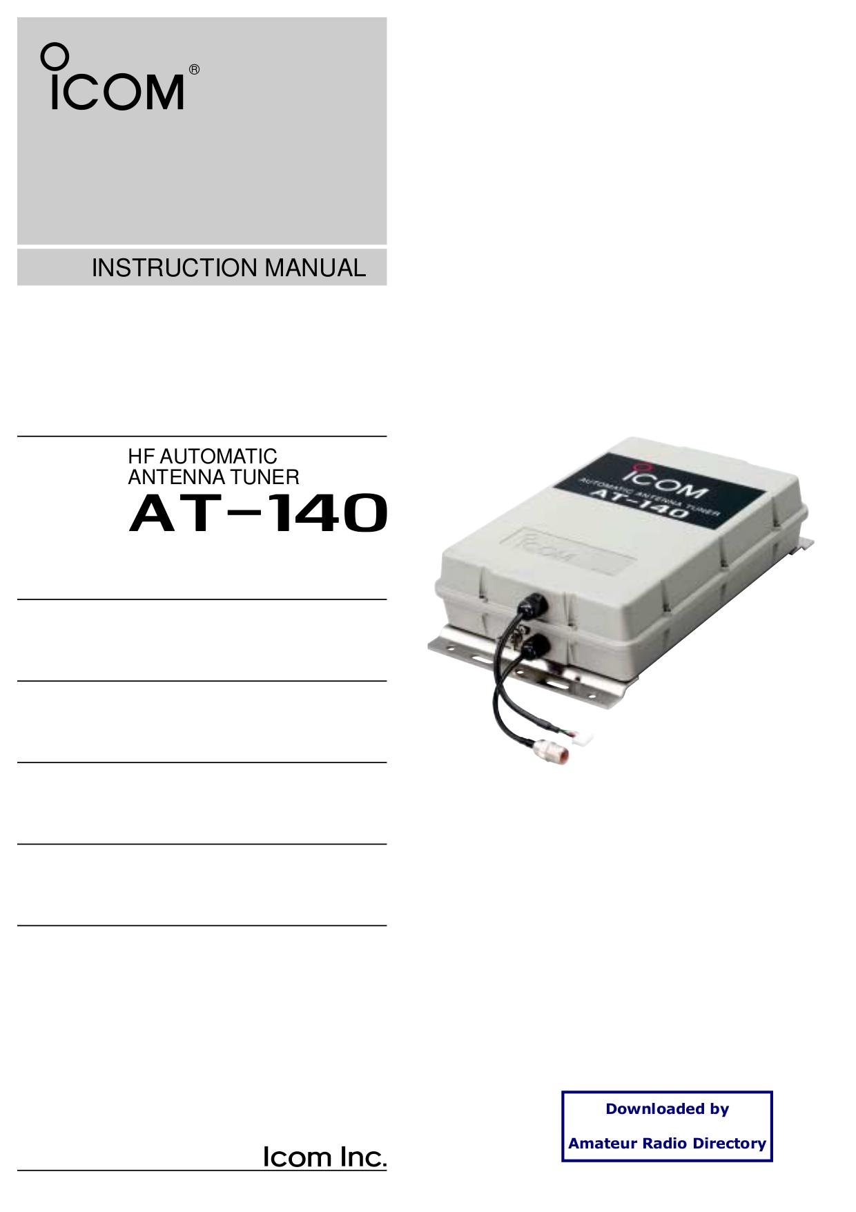 Ic 2000h user Manual