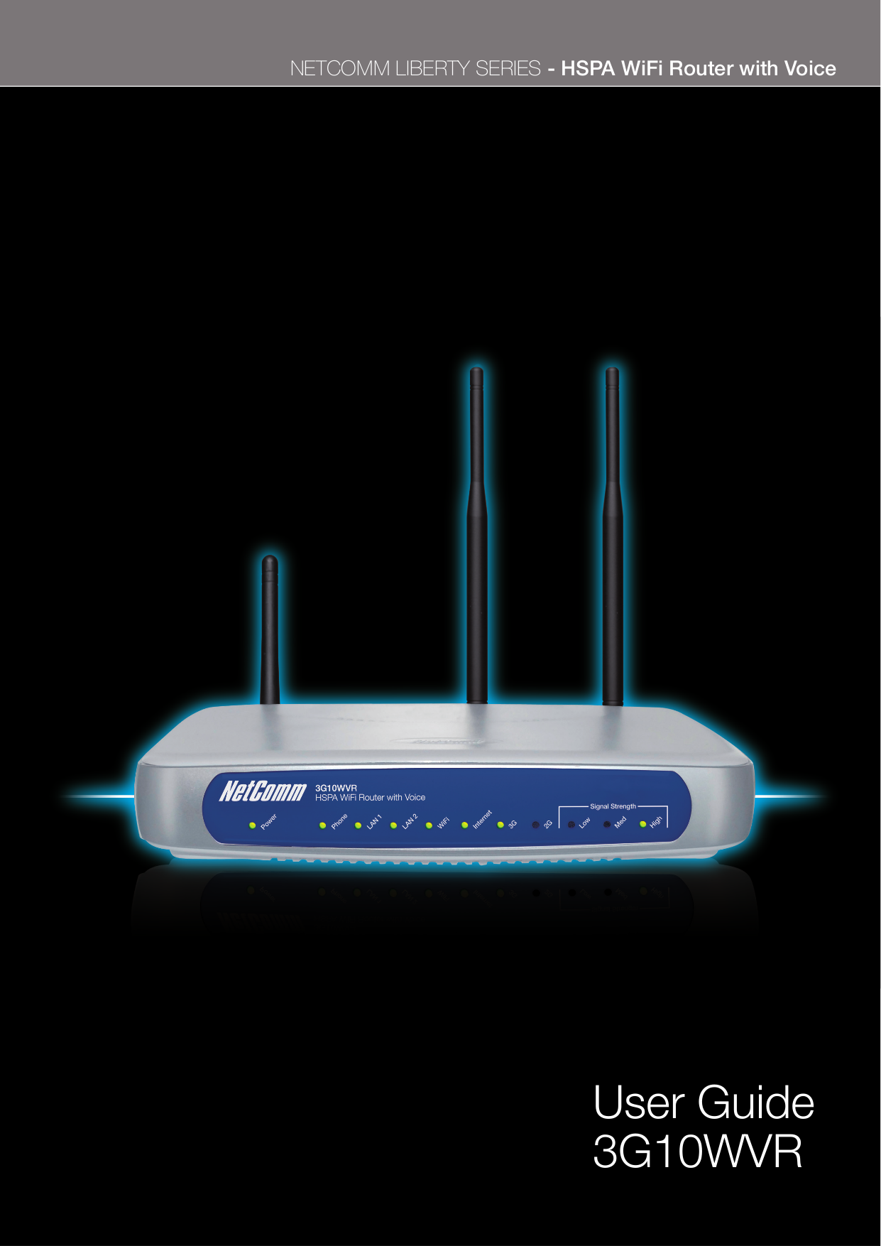 pdf for Netcomm Router NB8 manual