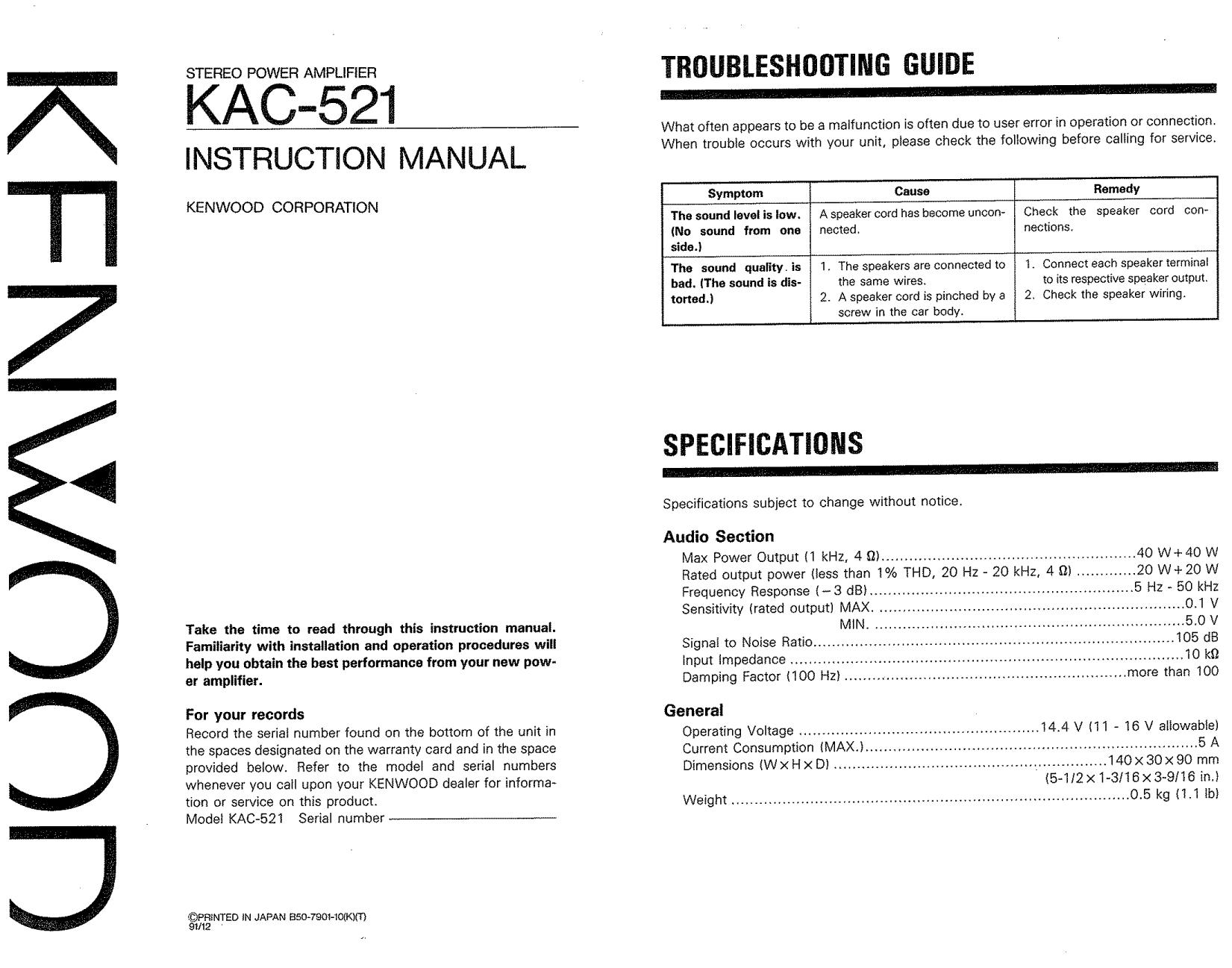 Kenwood ddx514 Manual on