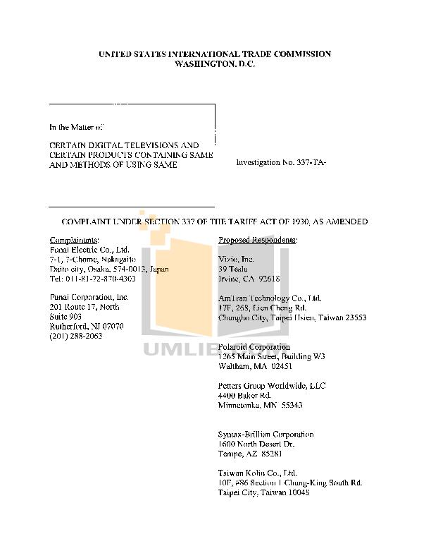 AOC TV A42HD84 pdf page preview