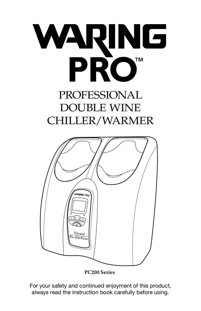 pdf for Waring Other PC200 Wine Chillers manual