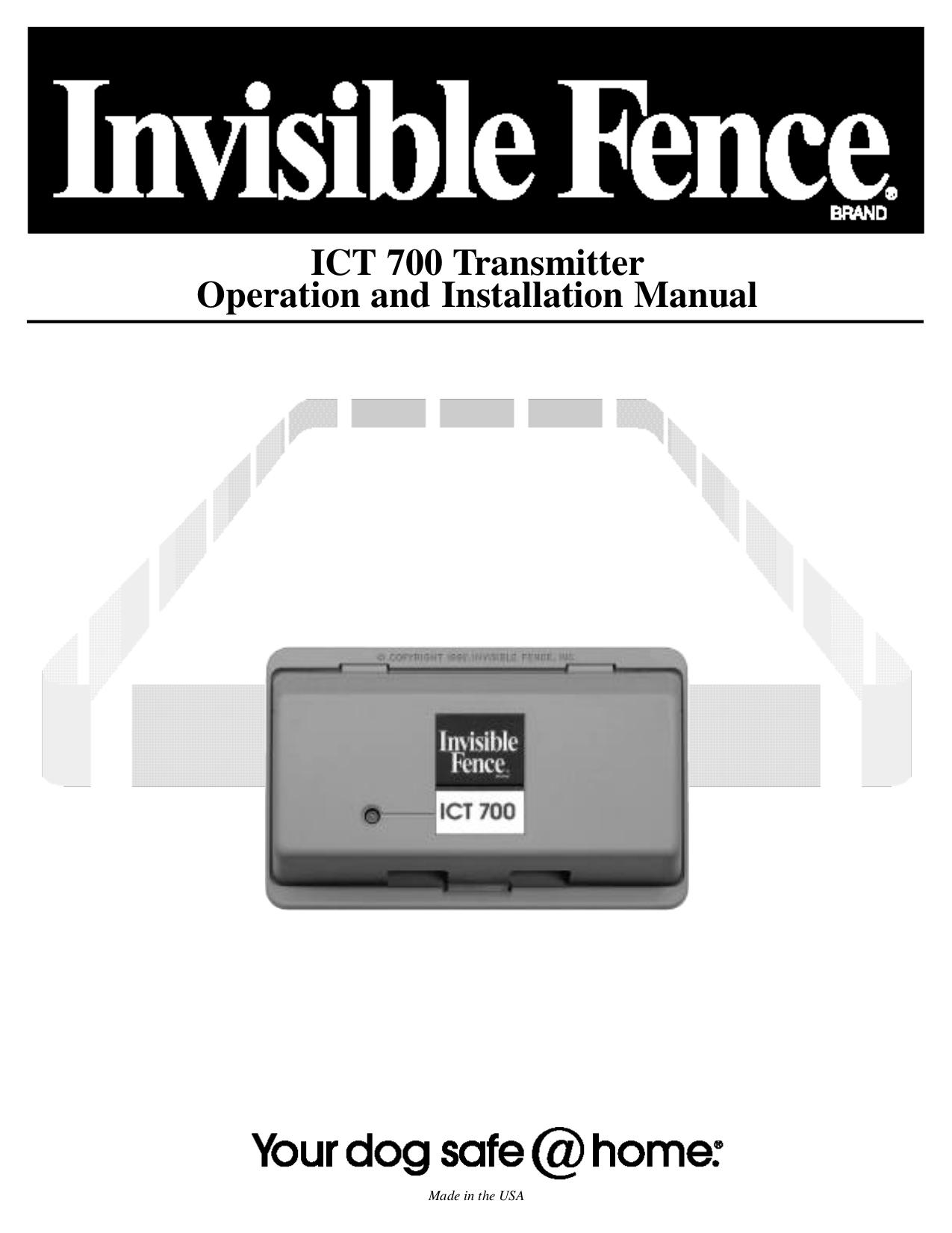 pdf for Waring Range ICT100 manual