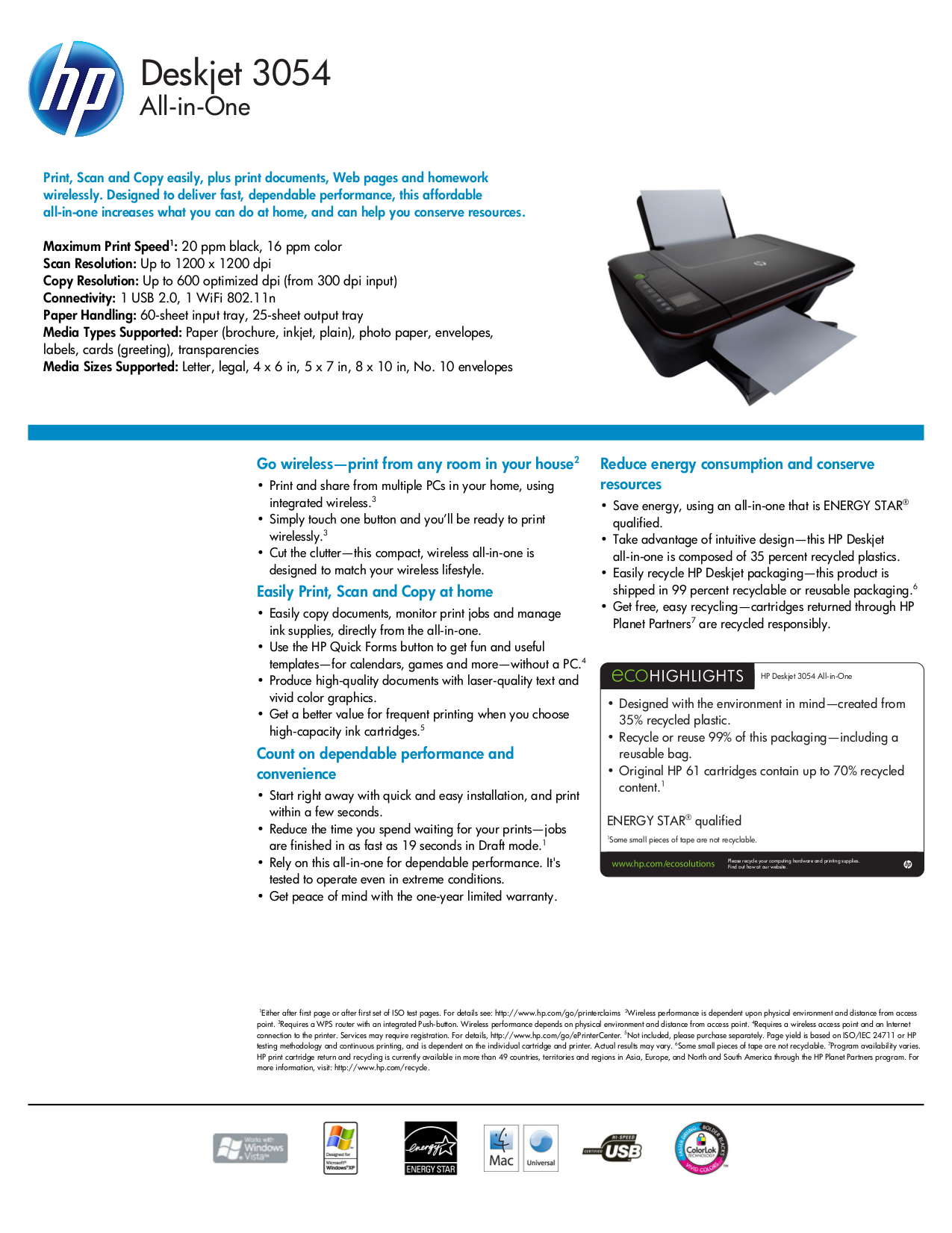 what is device documentation for hp printers
