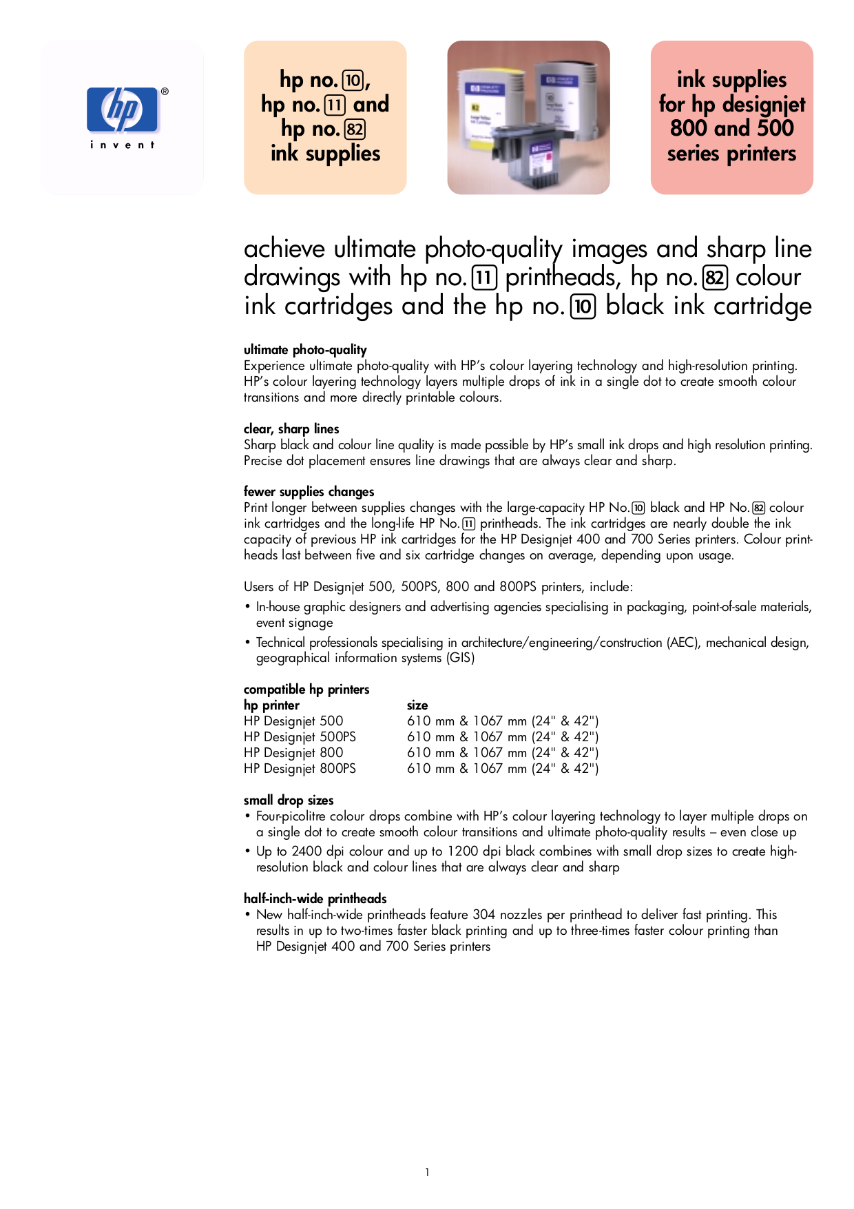Hp designjet 500 Manual Download