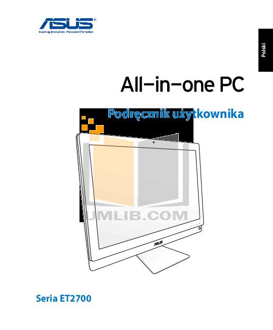 pdf for Asus Desktop ET2700INKS manual