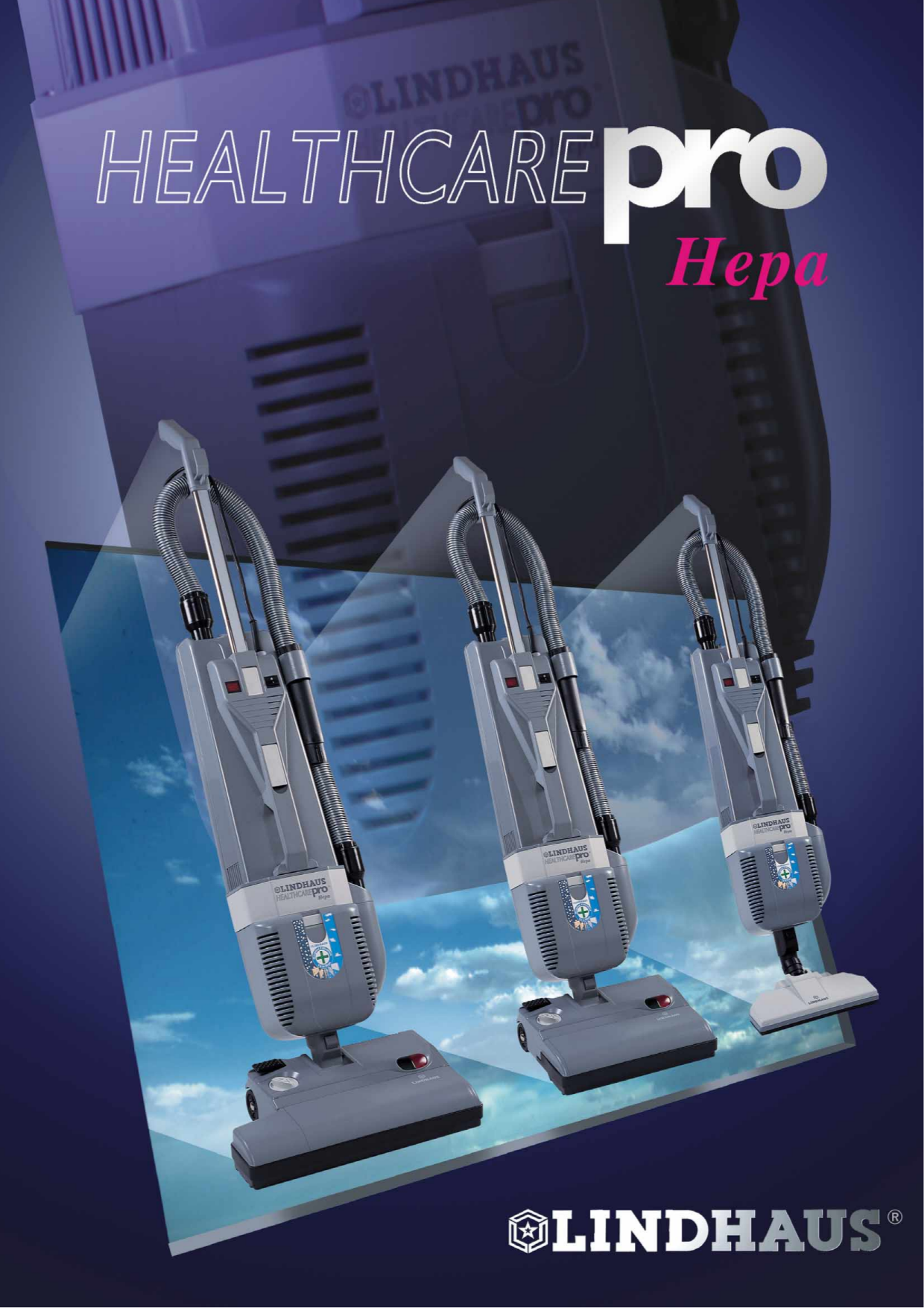pdf for Lindhaus Vacuum HEPA 12 manual