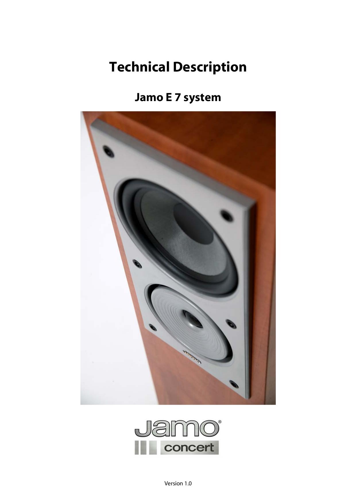 pdf for Jamo Subwoofer E 7SUB manual
