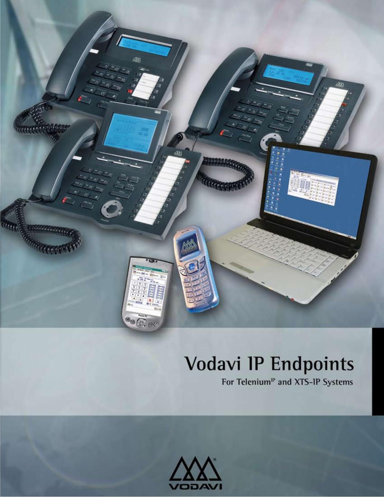pdf for Vodavi Cell Phone NomadIP manual