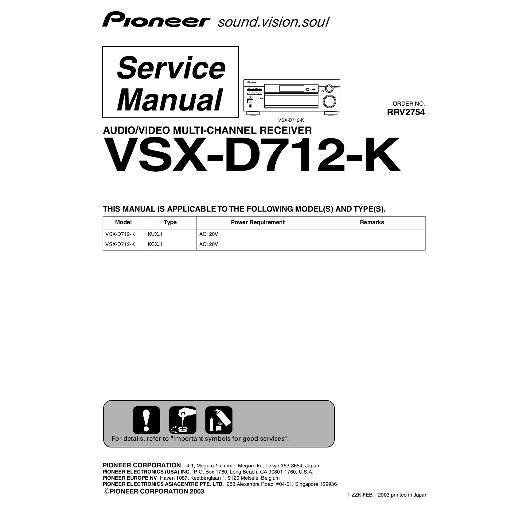 Pioneer Deh 1450 Wiring Diagram 31 Images Wire Harness Vsx D712 Rrv2754pdf 0 Diagrams 413300 P2000
