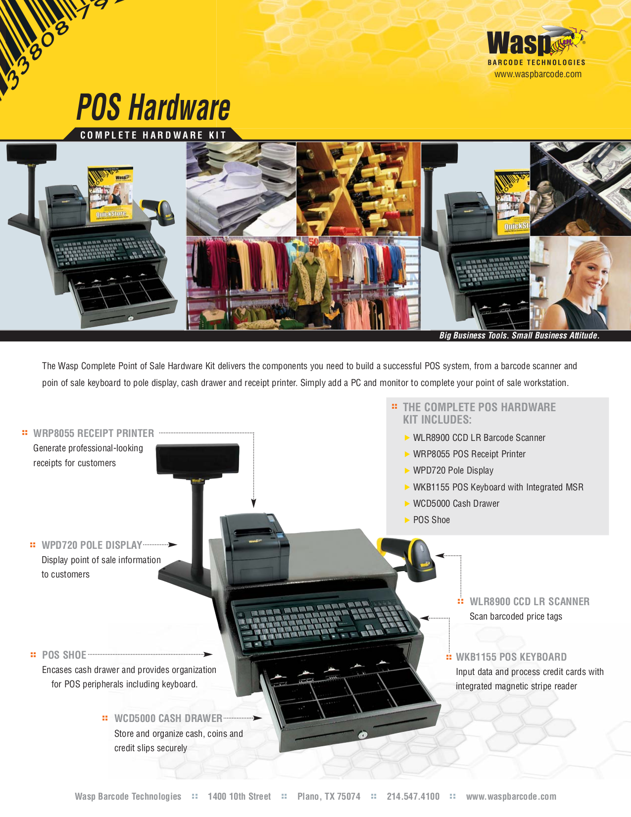pdf for Wasp Scanner WWS500 manual