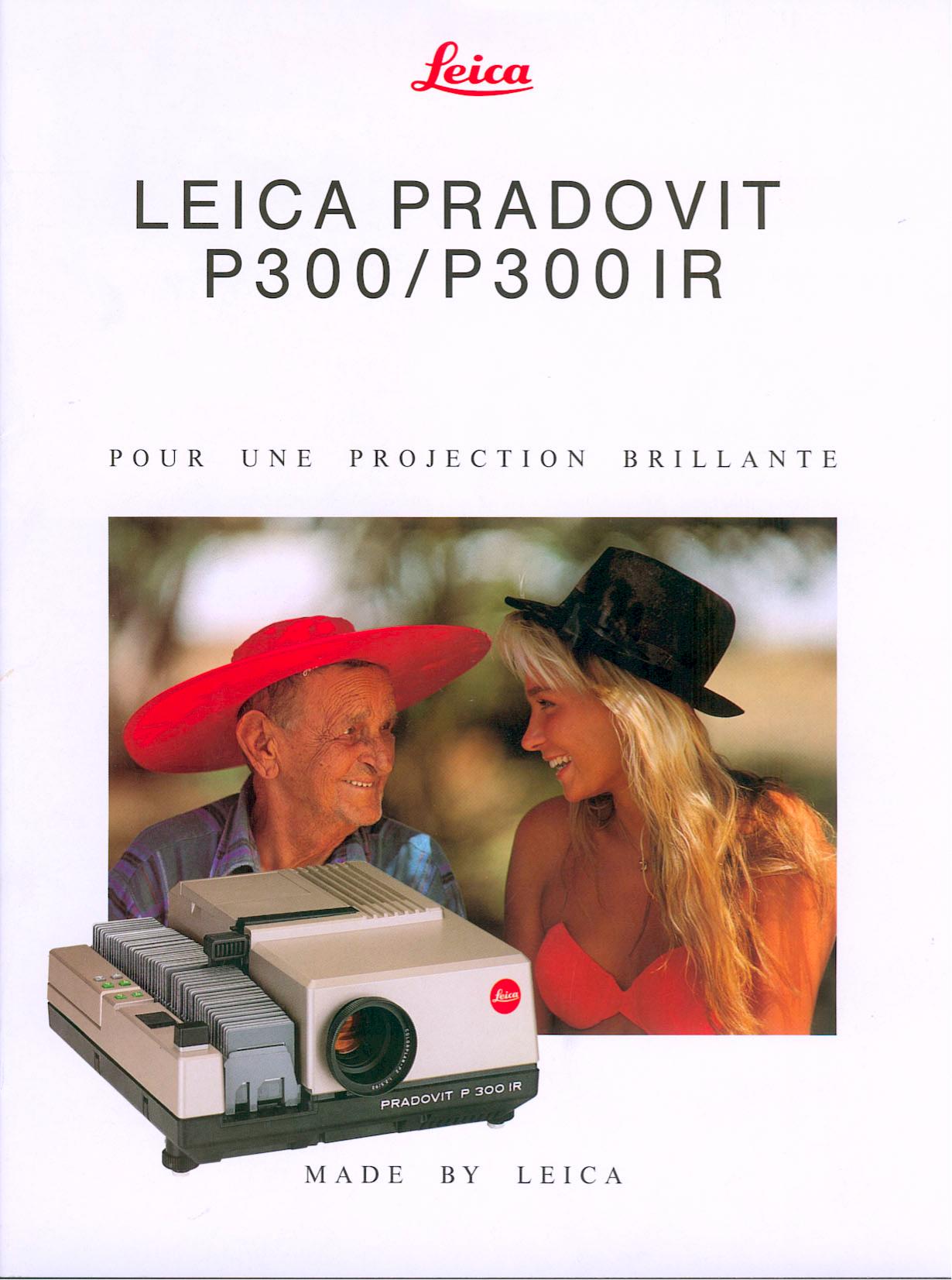 pdf for Leica Projector Pradovit P300 IR manual