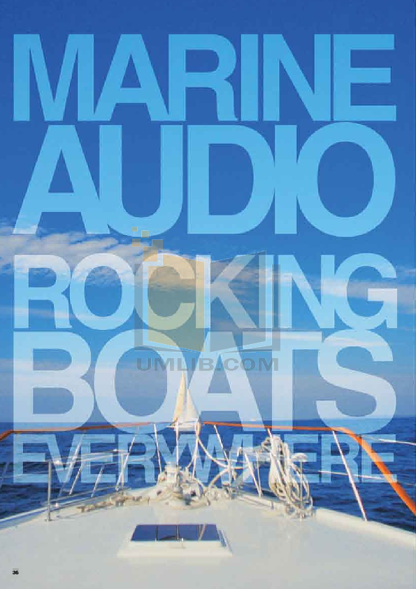 pdf for Clarion Other M455 Marine Receivers manual