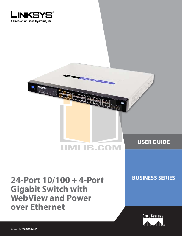 Cisco Switch User manual