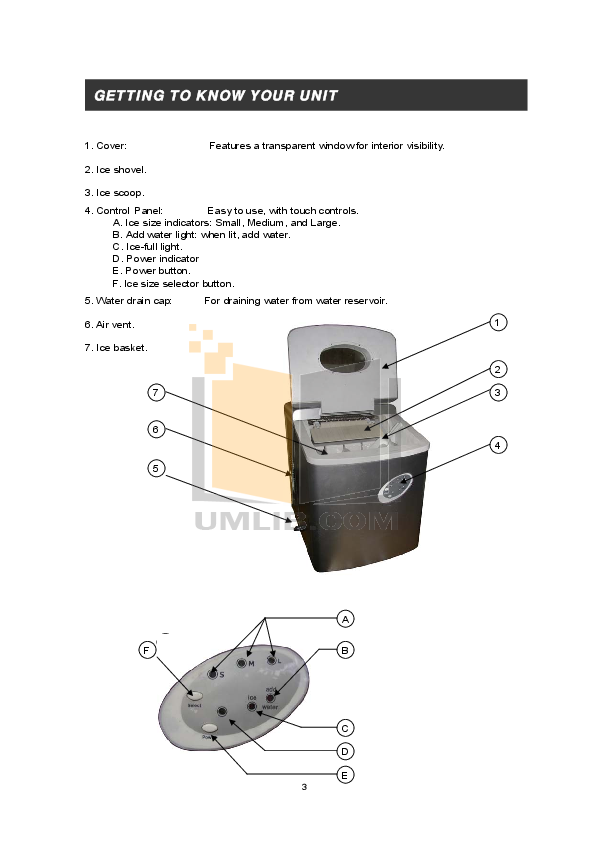 Edgestar Other IP210R Ice Makers pdf page preview