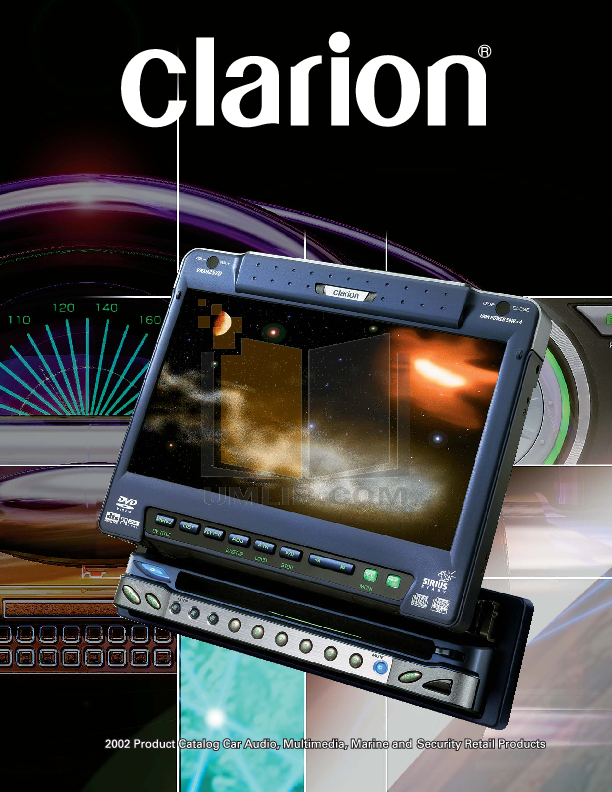 pdf for Clarion Other FMC250 Remote Control manual