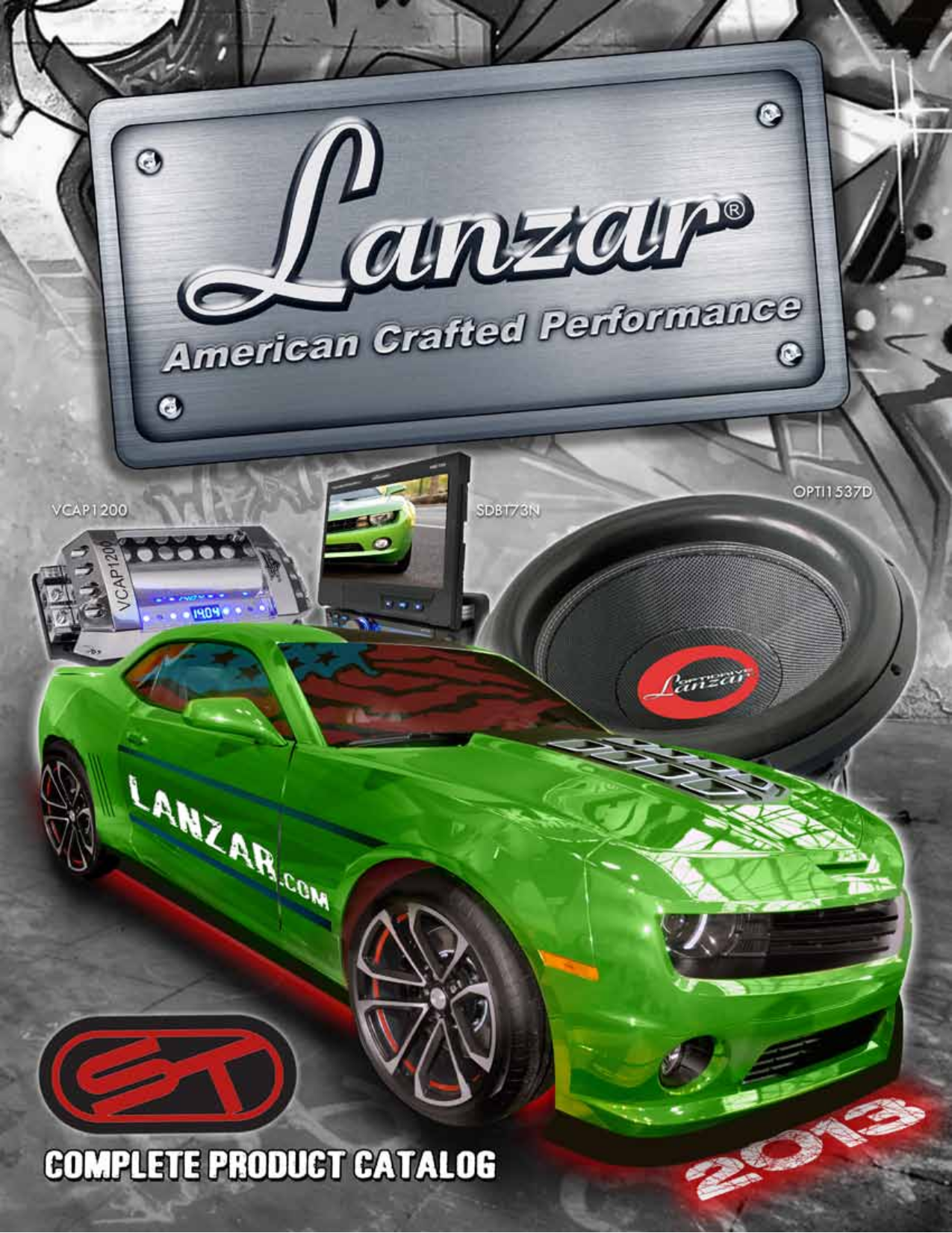 pdf for Lanzar Subwoofer OPTI1532D manual
