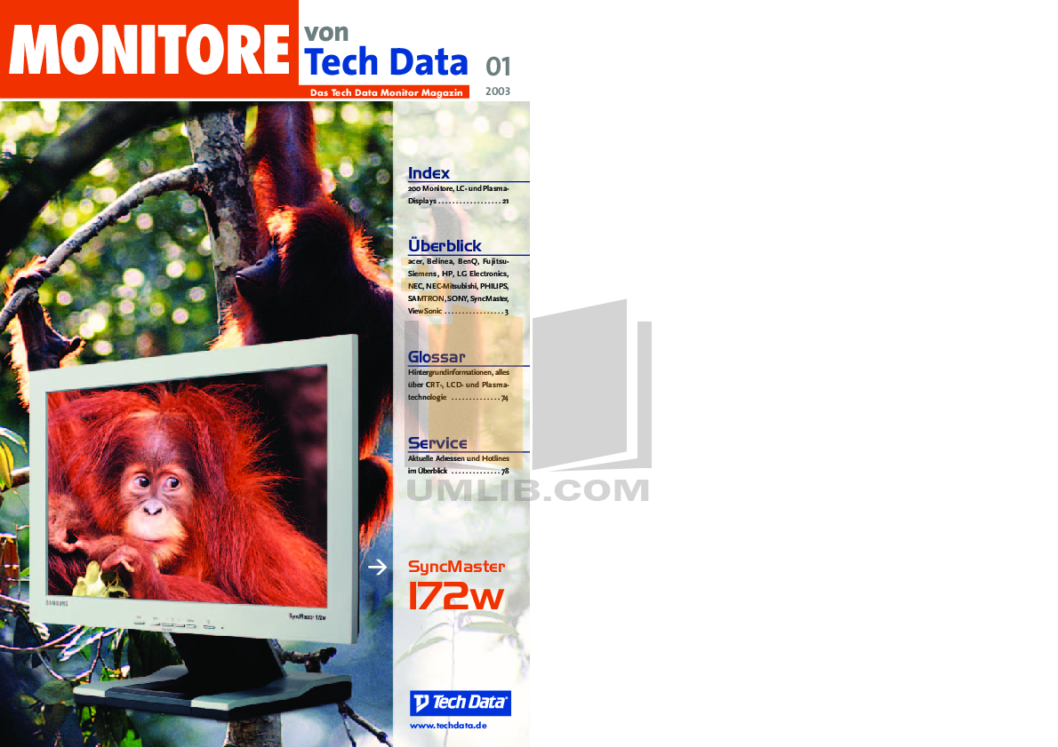pdf for Acer Monitor AL512 manual