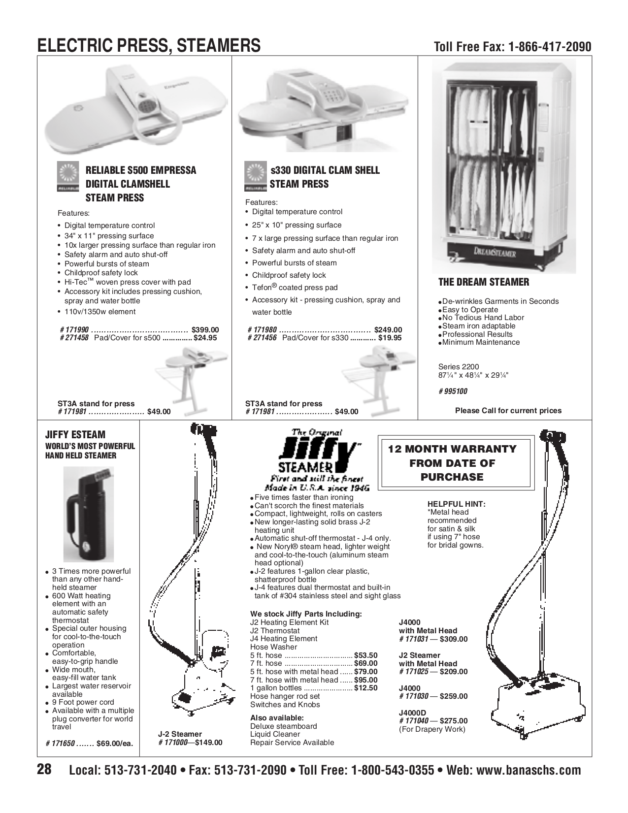 pdf for Jiffy Vacuum J-4000M manual