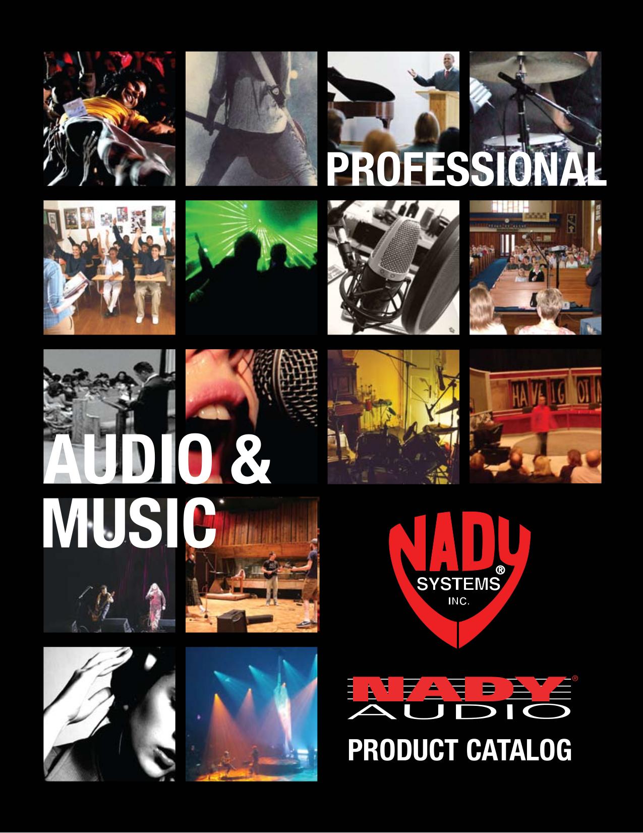 pdf for Nady Amp XA-1600 manual