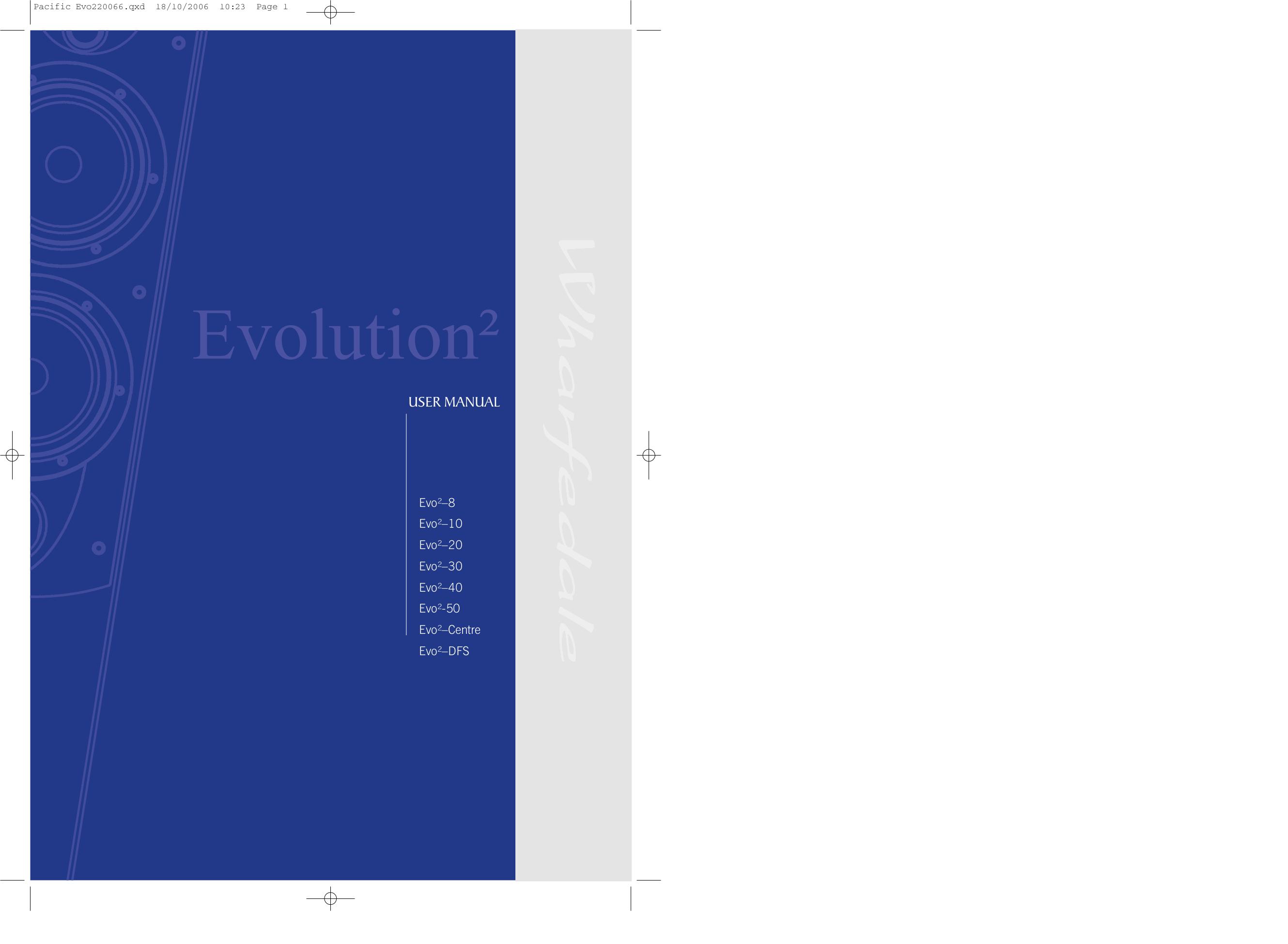 pdf for Wharfedale Speaker EVO2-40 manual