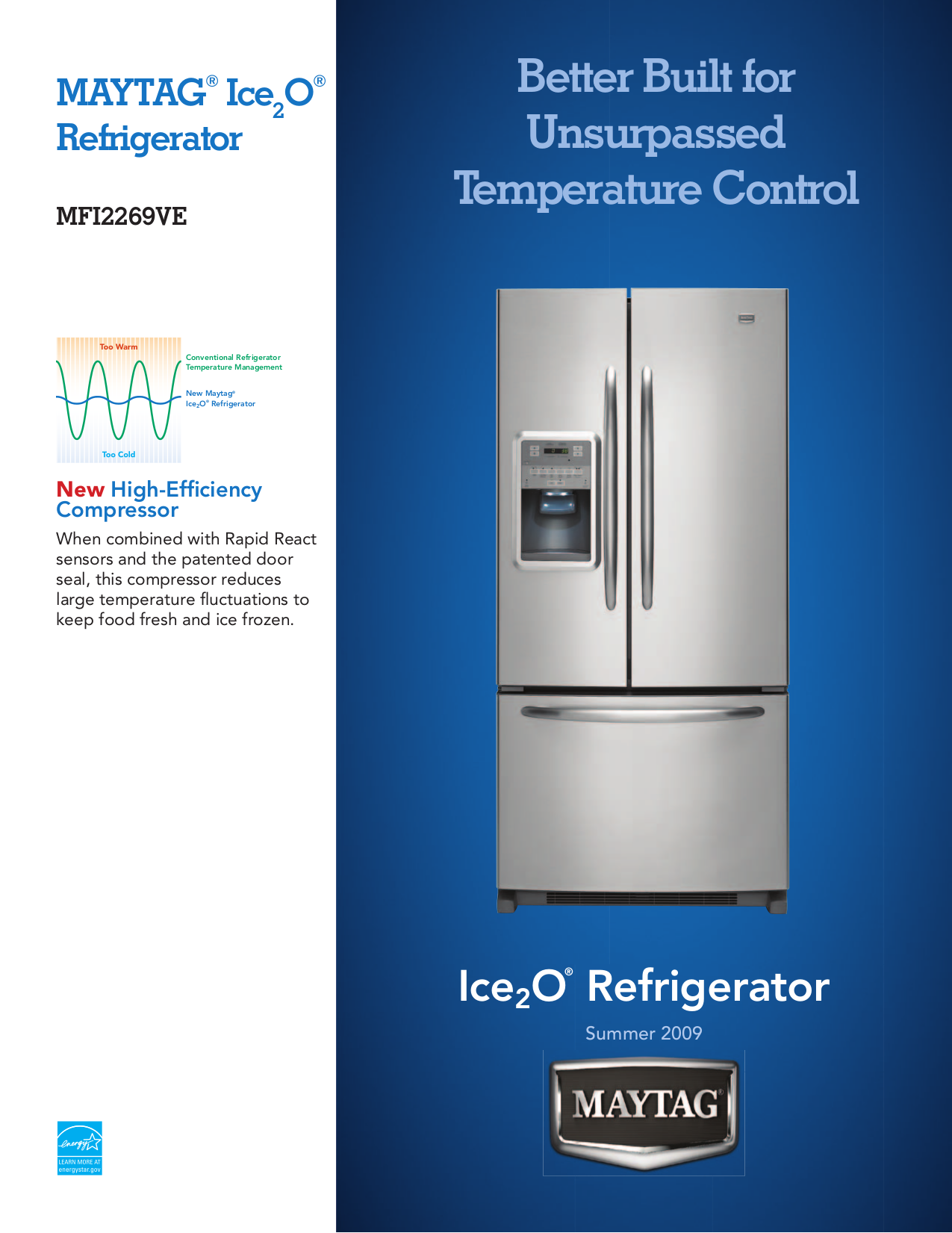 Download Free Pdf For Maytag Mfi2269ve Refrigerator Manual Schematic
