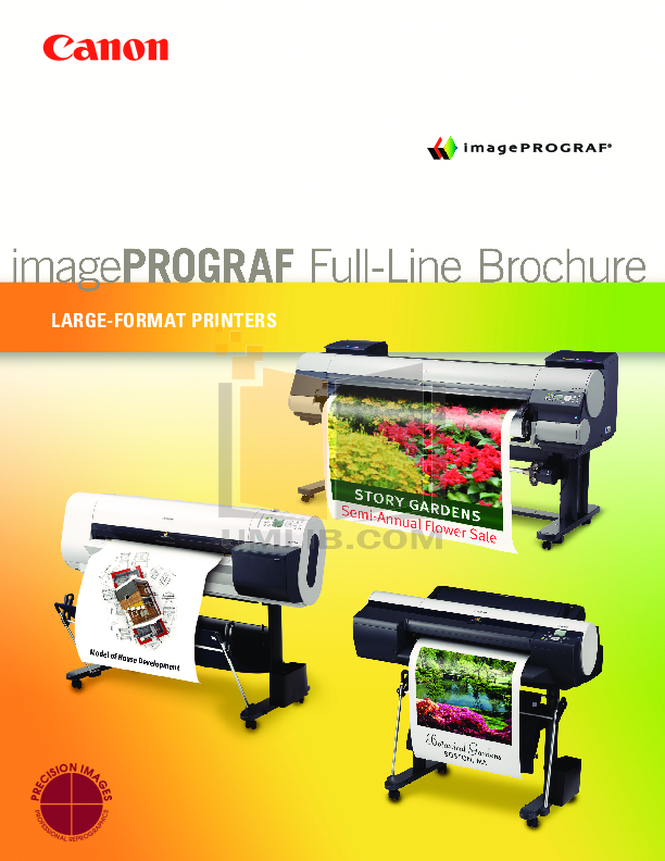 pdf for Canon Printer imagePROGRAF iPF720 manual