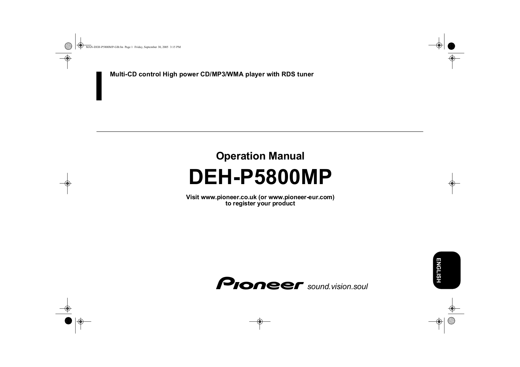 Pioneer Deh P5800mp Wiring Diagram Page 5 And Wire Harness Free Pdf For Car Receiver Manual Rh Umlib Com Installation