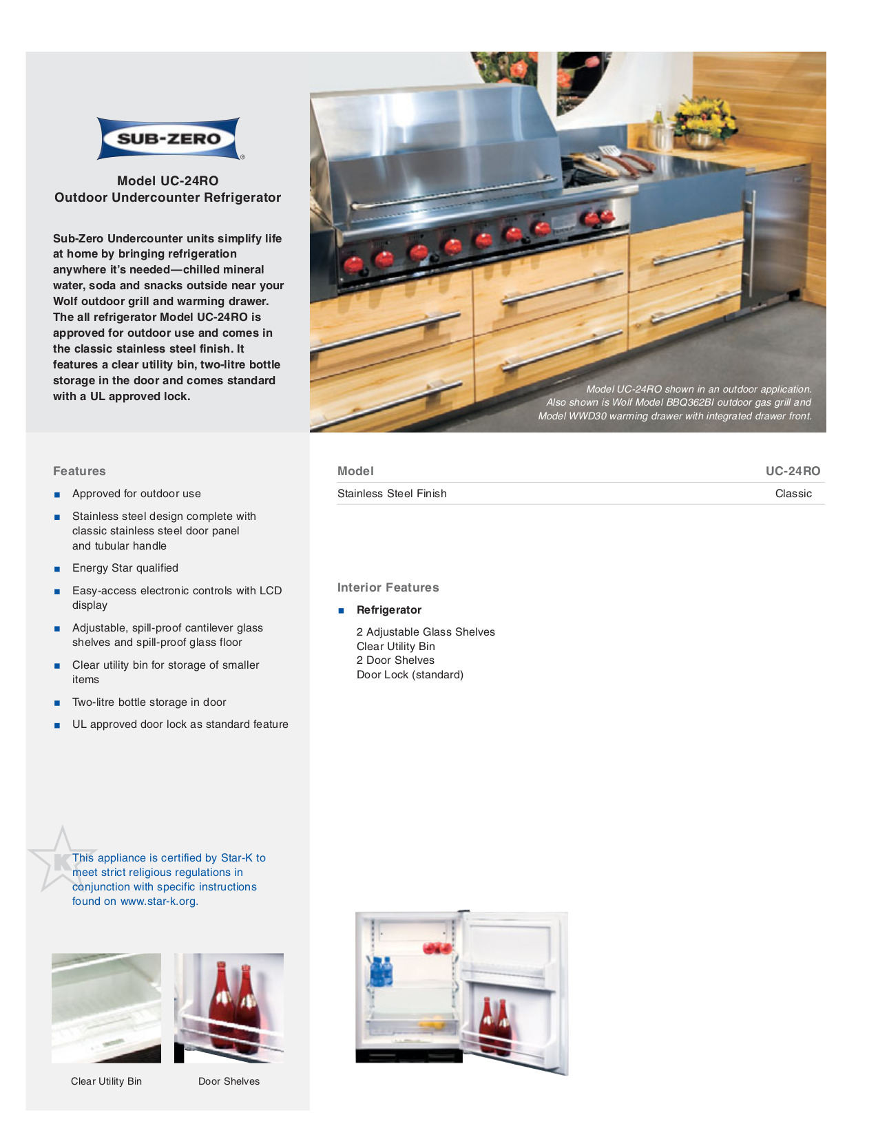 pdf for Wolf Grill BBQ362BI manual