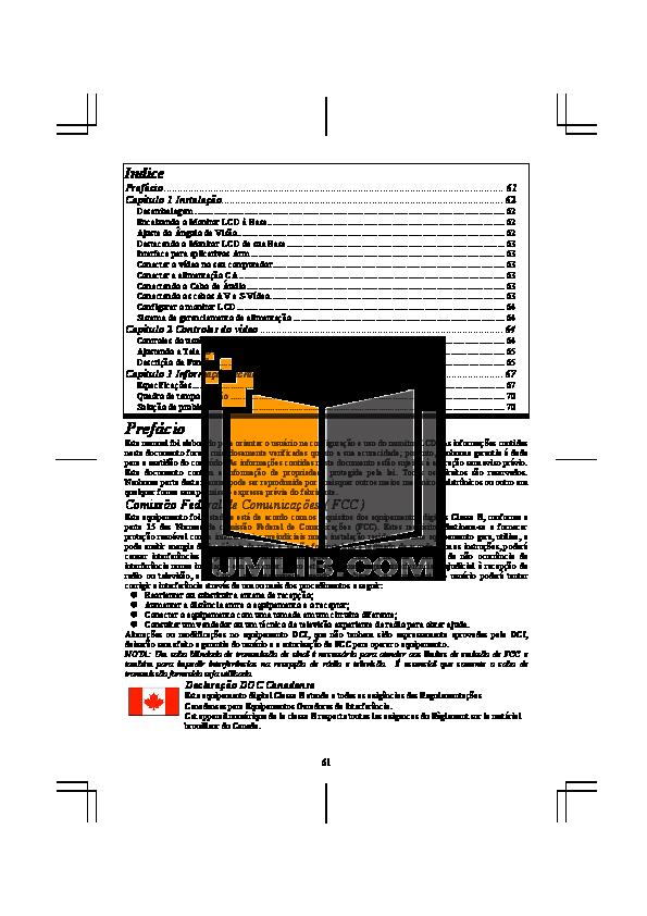 pdf for Acer Monitor AL1931 manual