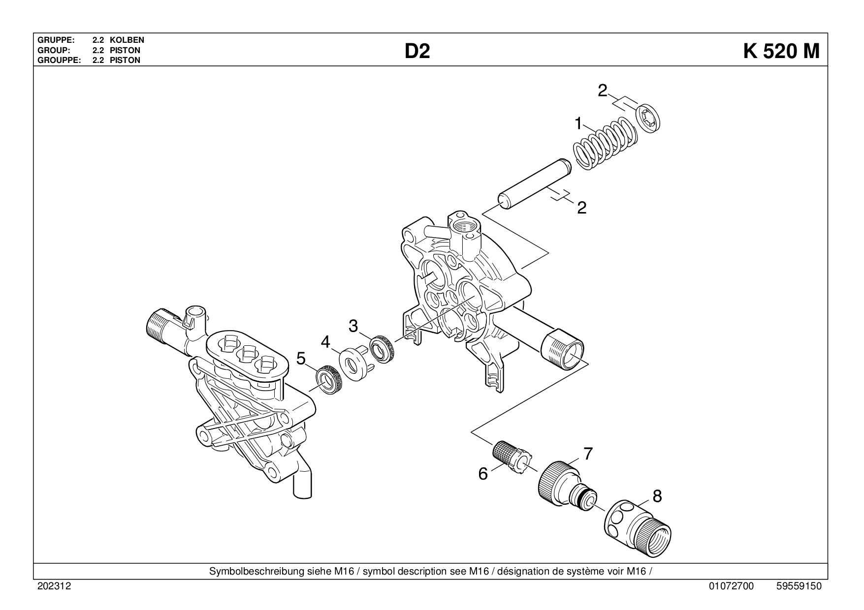 Karcher 330 m service Manual