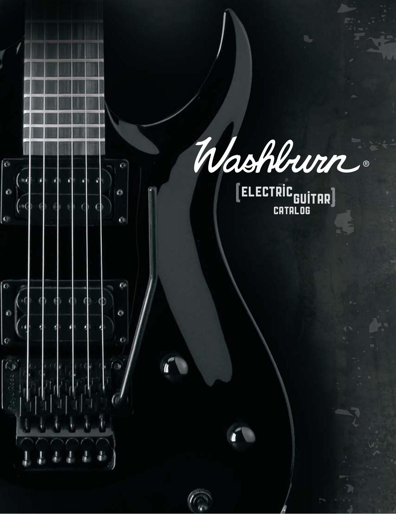 pdf for Washburn Guitar N4ESA manual