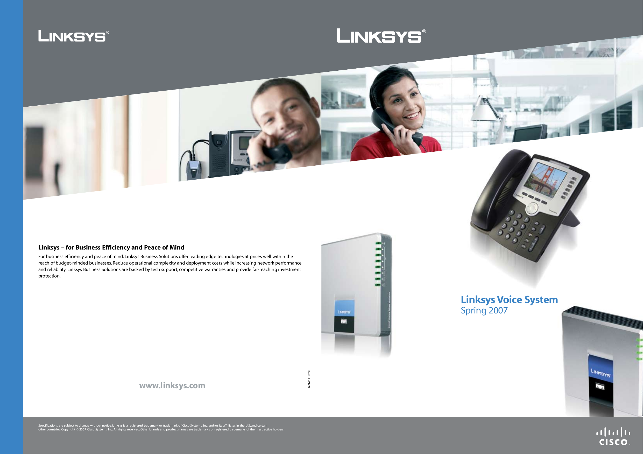 pdf for Linksys Telephone SPA901 manual