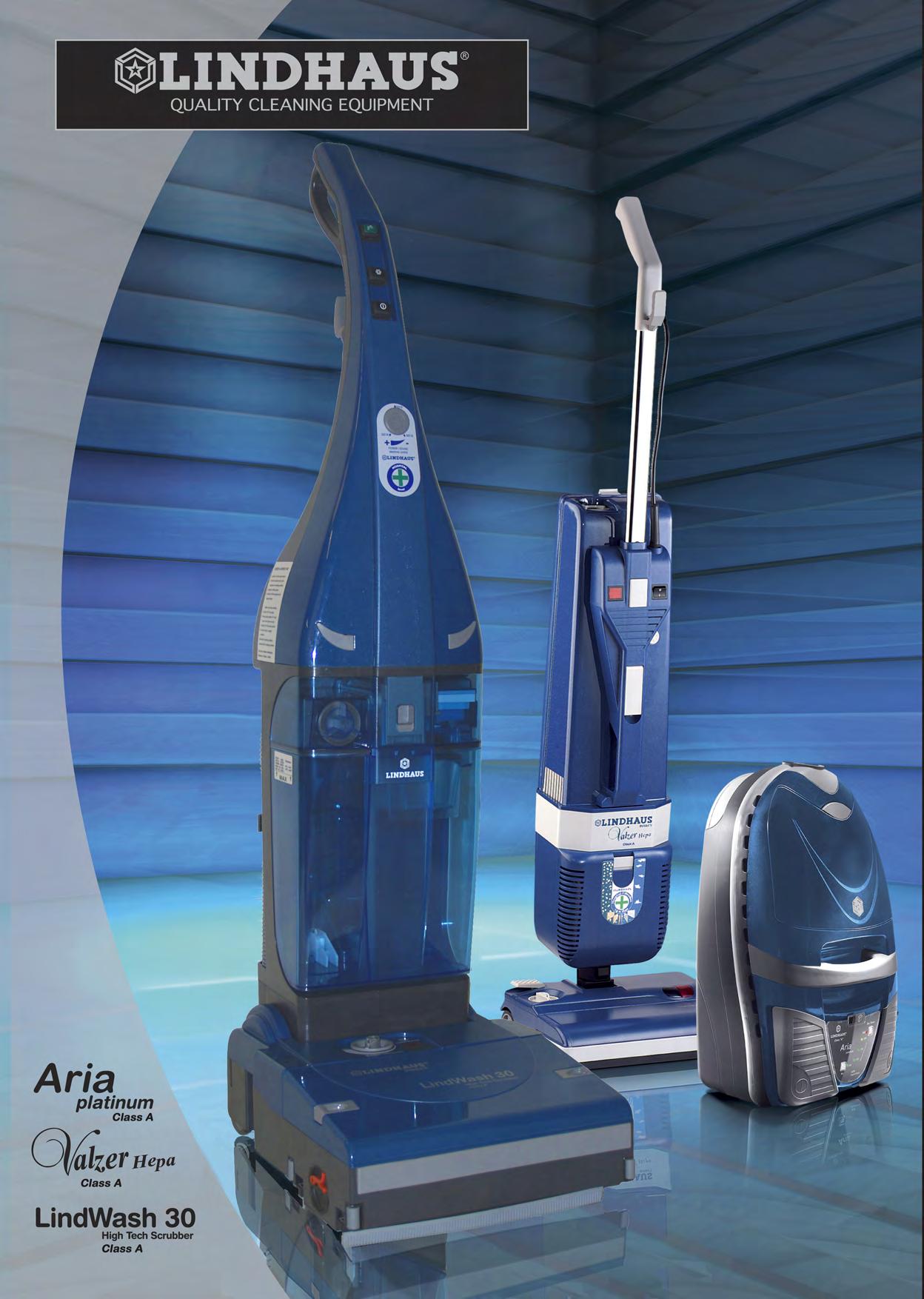 pdf for Lindhaus Vacuum Valzer HEPA manual
