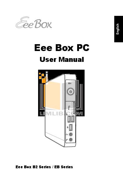 pdf for Asus Desktop Eee Box B202 manual